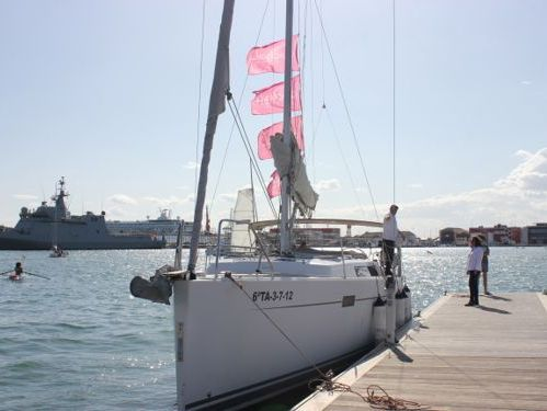 Segelboot Hanse 445 · 2011