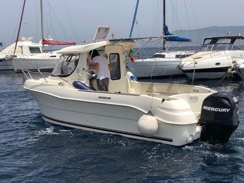 Imbarcazione a motore Quicksilver 640 (2011)