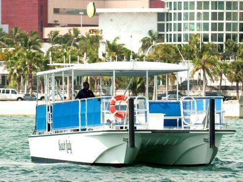 Motor Catamaran Custom Built · 2001