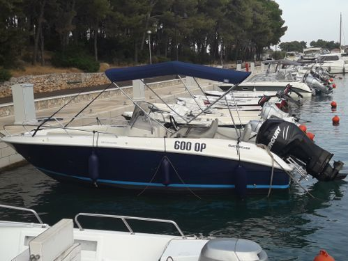 Speedboat Quicksilver Commander 600 (2012)