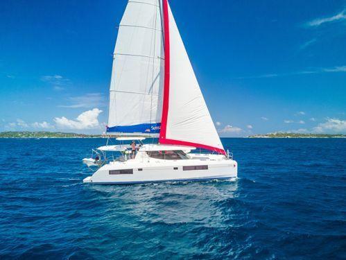 Catamaran Leopard Sunsail 454 · 2018