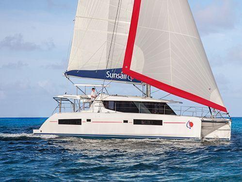 Catamarano Leopard Sunsail 454 · 2017