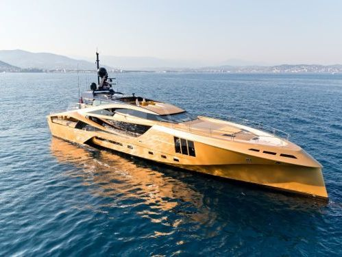 Motorboot Palmer Johnson Super yacht Khalilah (2015)