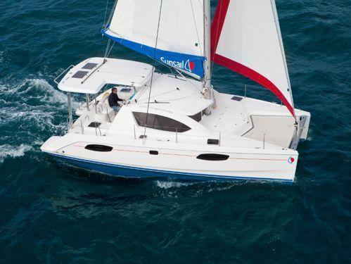 Catamaran Leopard Sunsail 404 · 2018