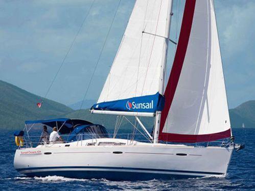 Sailboat Beneteau Sunsail Oceanis 430 (2016)