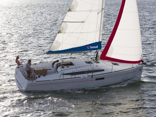 Sailboat Jeanneau Sunsail 34- 2/1 · 2019