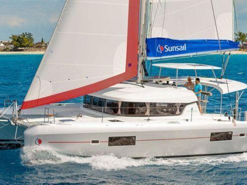 Catamarano Lagoon Sunsail 424 (2019)