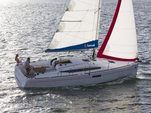 Sailboat Jeanneau Sunsail 34- 2/1 · 2017