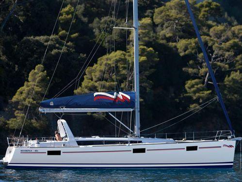 Sailboat Beneteau Moorings 48.4 · 2016