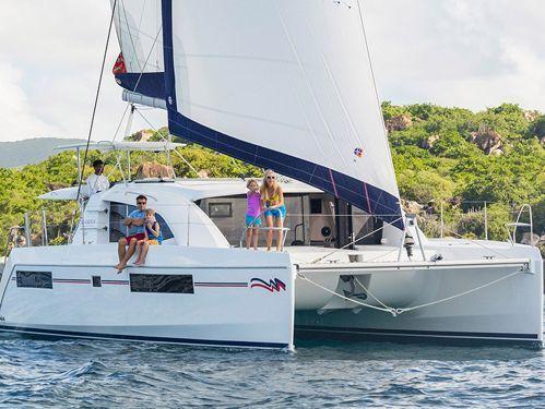 Catamaran Leopard Moorings 4000/3 · 2018