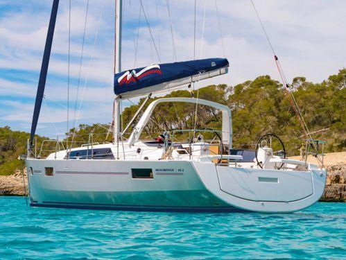 Sailboat Beneteau Moorings 42.1 · 2019