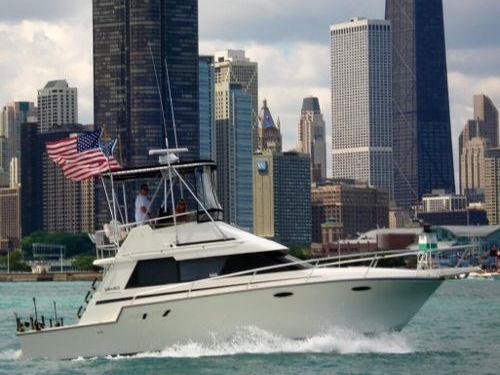 Motorboat Luhrs 37 Tournament Pro Convertible · 1990