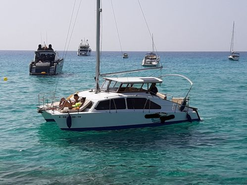 Catamarano Custom Built · 1970