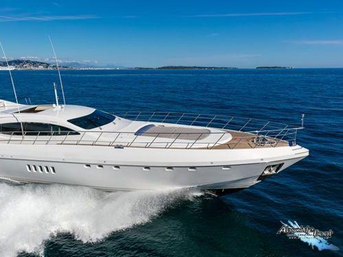 Motorboot Mangusta 108 (2010)