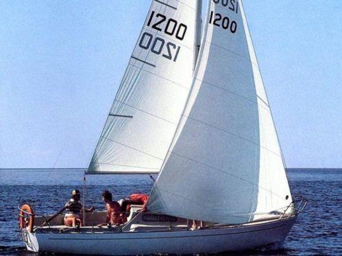 Barca a vela Albin Viggen 23 · 1976