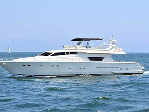Motorboat Ferretti 80 · 2000