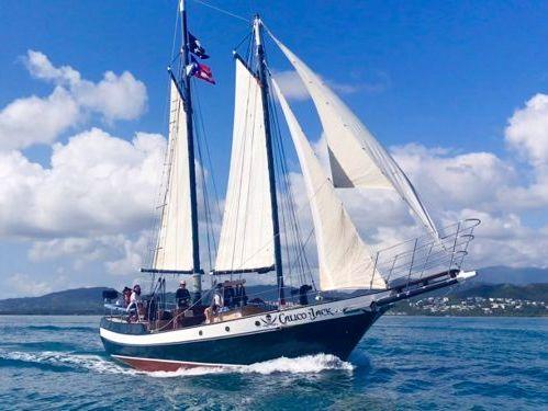 Sailboat Gaff Schooner · 1991