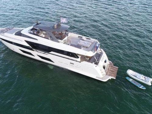 Motorboat Ferretti 97 (2019)