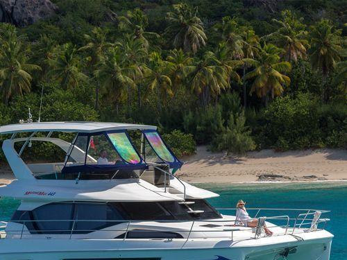 Catamarano a motore Aquila 44 Power · 2018