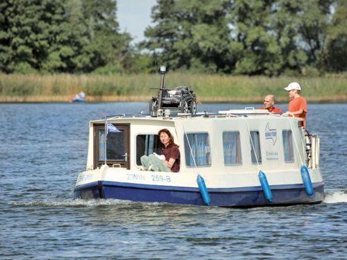 Imbarcazione a motore Narrowboat Kuinder (1984)