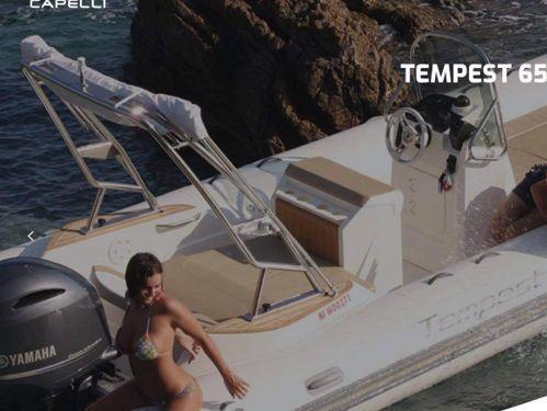 RIB Capelli Tempest 650 · 2021