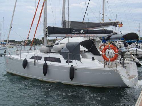Zeilboot Hanse 325 · 2014