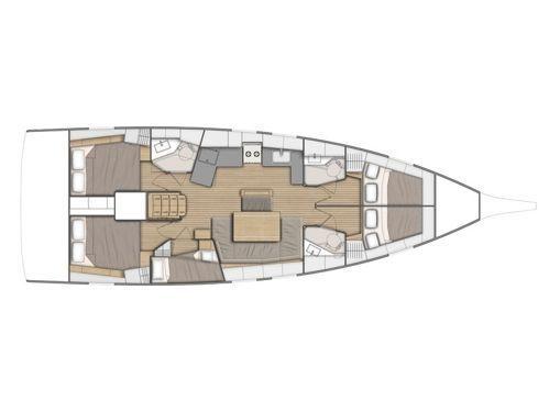 Zeilboot Beneteau Oceanis 46.1 · 2021