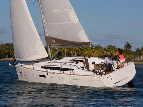 Barca a vela Jeanneau Sun Odyssey 349 · 2021