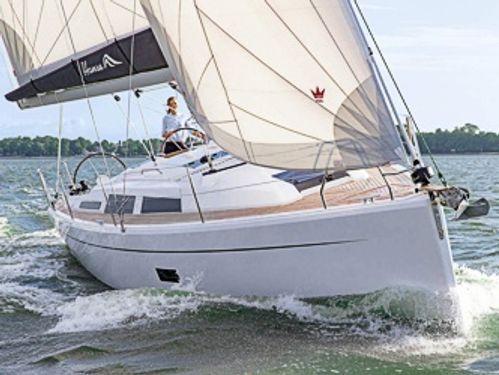 Sailboat Hanse 348 · 2021