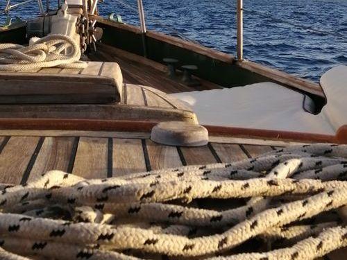Segelboot A Vela Ketch · 1956