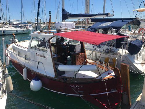 Imbarcazione a motore Menorquin Capeador 36 (1988)
