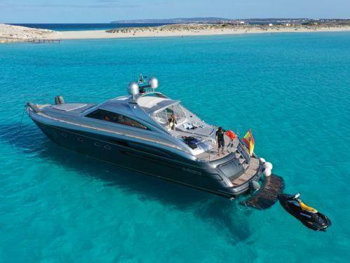 Imbarcazione a motore Princess V65 (2002)