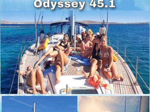 Barca a vela Jeanneau Sun Odyssey 45.1 (2001)