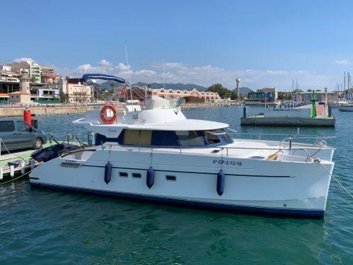 Motor Catamaran Fountaine Pajot MY 37 · 2002