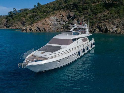 Motorboat Ferretti 72 · 1996