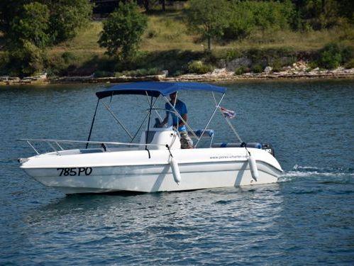 Motorboat Bluline 19 Open (2010)