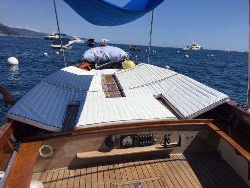 Motorboot Gozzo Pexino · 2000
