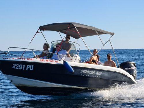 Speedboat Fisher 20 Sun Deck (2016)