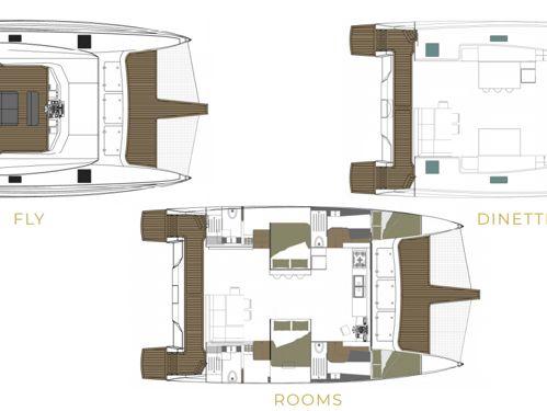 Motor Catamaran Lagoon Power 43 · 2020