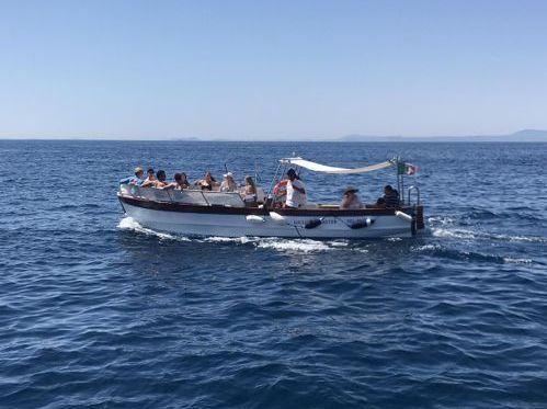 Imbarcazione a motore Fratelli Aprea Lancia · 1954