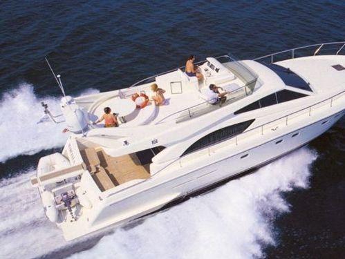 Motorboot Ferretti 530 · 2004