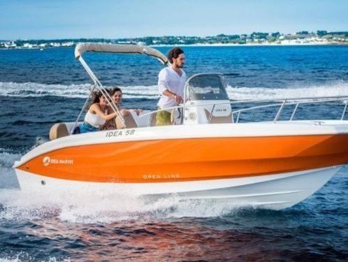 Speedboat Idea Marine 58 · 2021