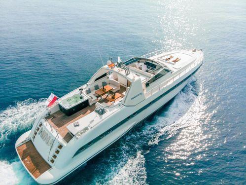 Imbarcazione a motore Mangusta 80 · 2021