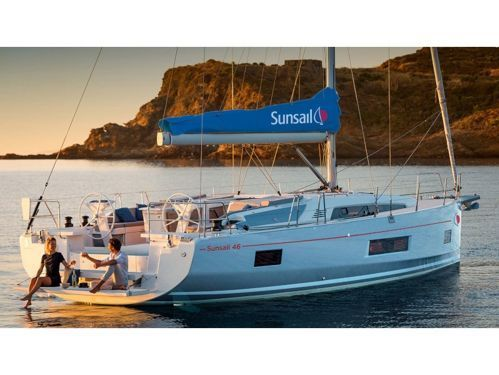 Sailboat Beneteau Sunsail 46 Mon · 2019