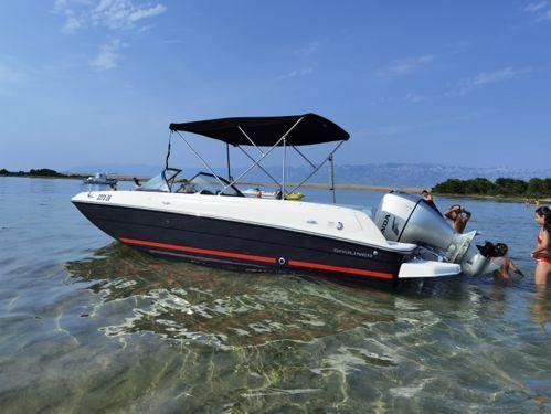 Speedboat Bayliner Element E7 · 2018