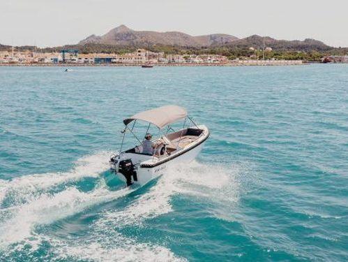 Speedboot Silver 495 · 2016