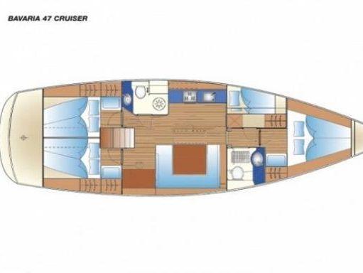 Velero Bavaria Cruiser 47 · 2009 (2)