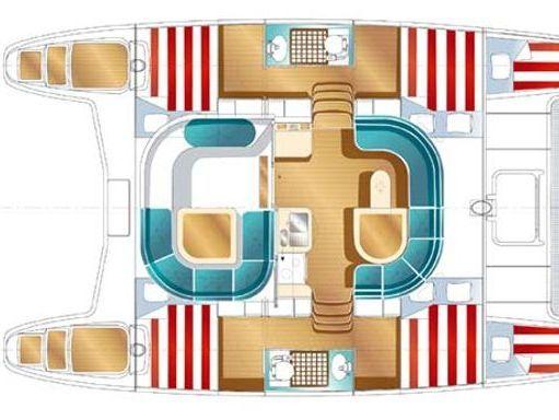 Catamarán Nautitech 40 · 2006 (4)