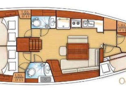 Segelboot Beneteau Oceanis 43 · 2008 (4)