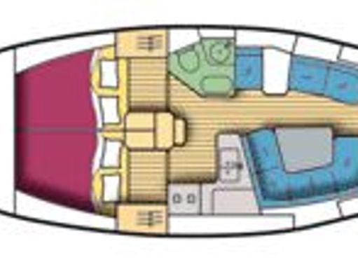 Sailboat Jeanneau Sun Odyssey 37 · 2001 (4)